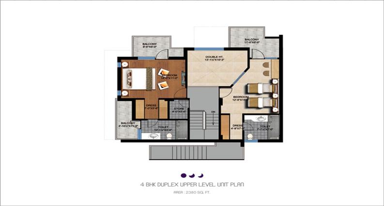 4 bhk duplex uper new-crescent-fp-big4